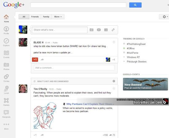 Google+   Bina Rangkaian Dan Dapatkan Trafik Menerusinya