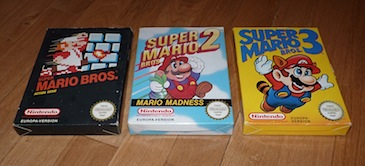 The Super Mario Bros. Nintendo NES Trilogy