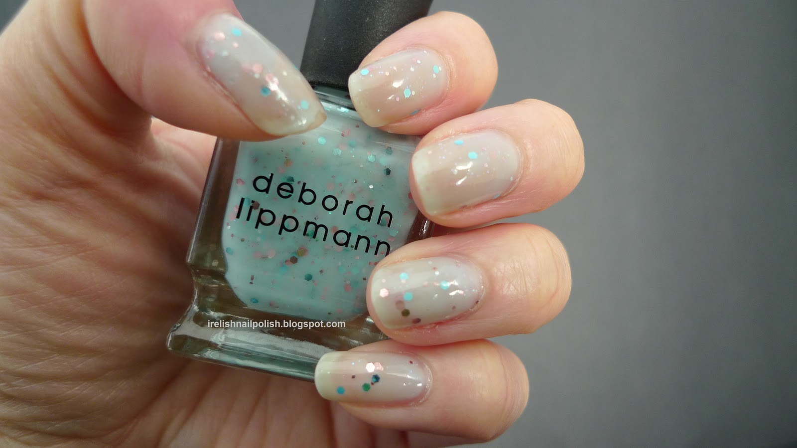 I Relish Nail Polish!: Deborah Lippmann - Glitter in the Air