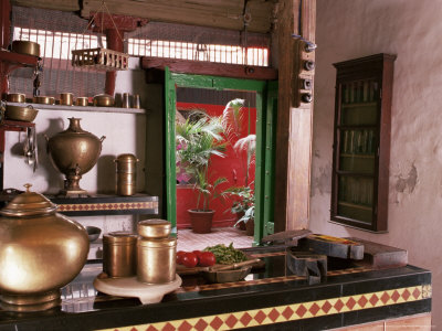 Indian ethnic kitchen design for Kitchen design images india