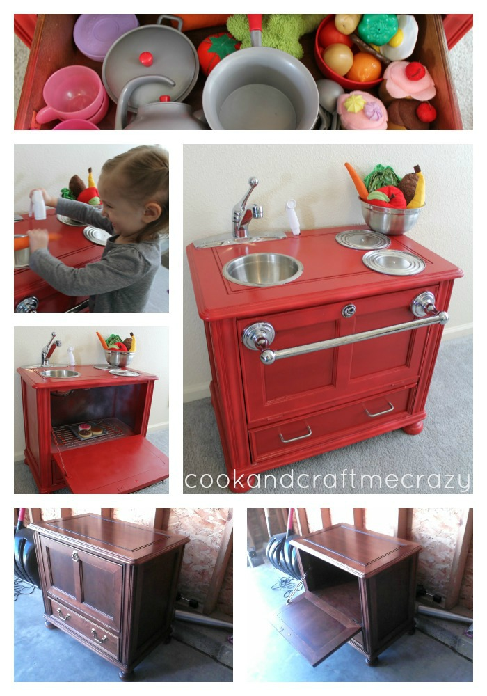 From Night Stand To Play Kitchen