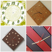 Clock assembly and wall clock making