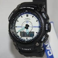 jam tangan casio g-shock protrek biru