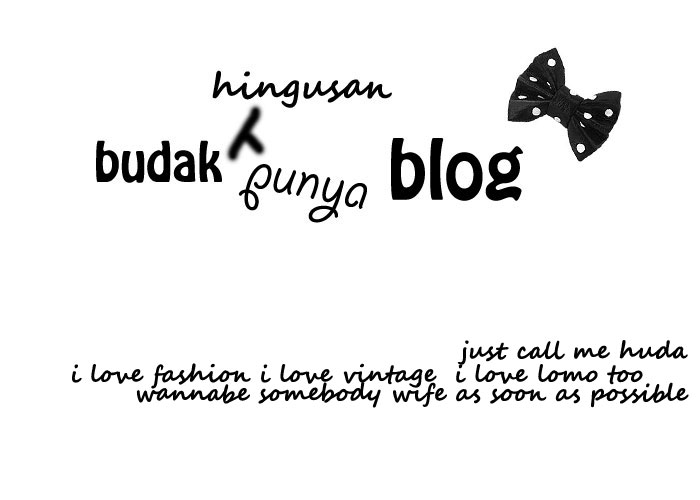 huda yacob official blog
