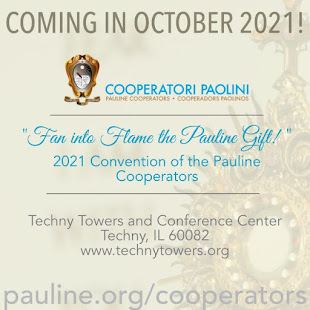 PAULINE COOPERATOR CONVENTION MOVED TO 2021