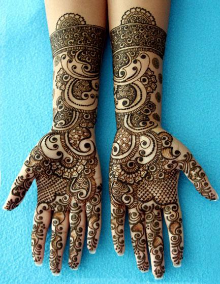 Mehndi Eid Designs 2012 : Unique eid mehndi designs