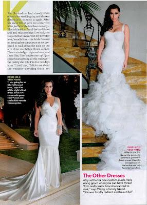 10 Fotos oficiais do casamento de Kim Kardashian...!
