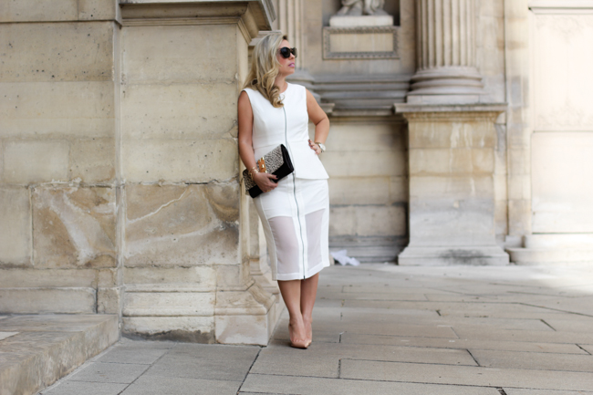 bcbg all white outfit