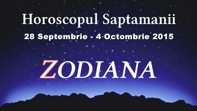horoscopul saptamanii octombrie 2015