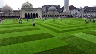 taman masjid alun alun bandung