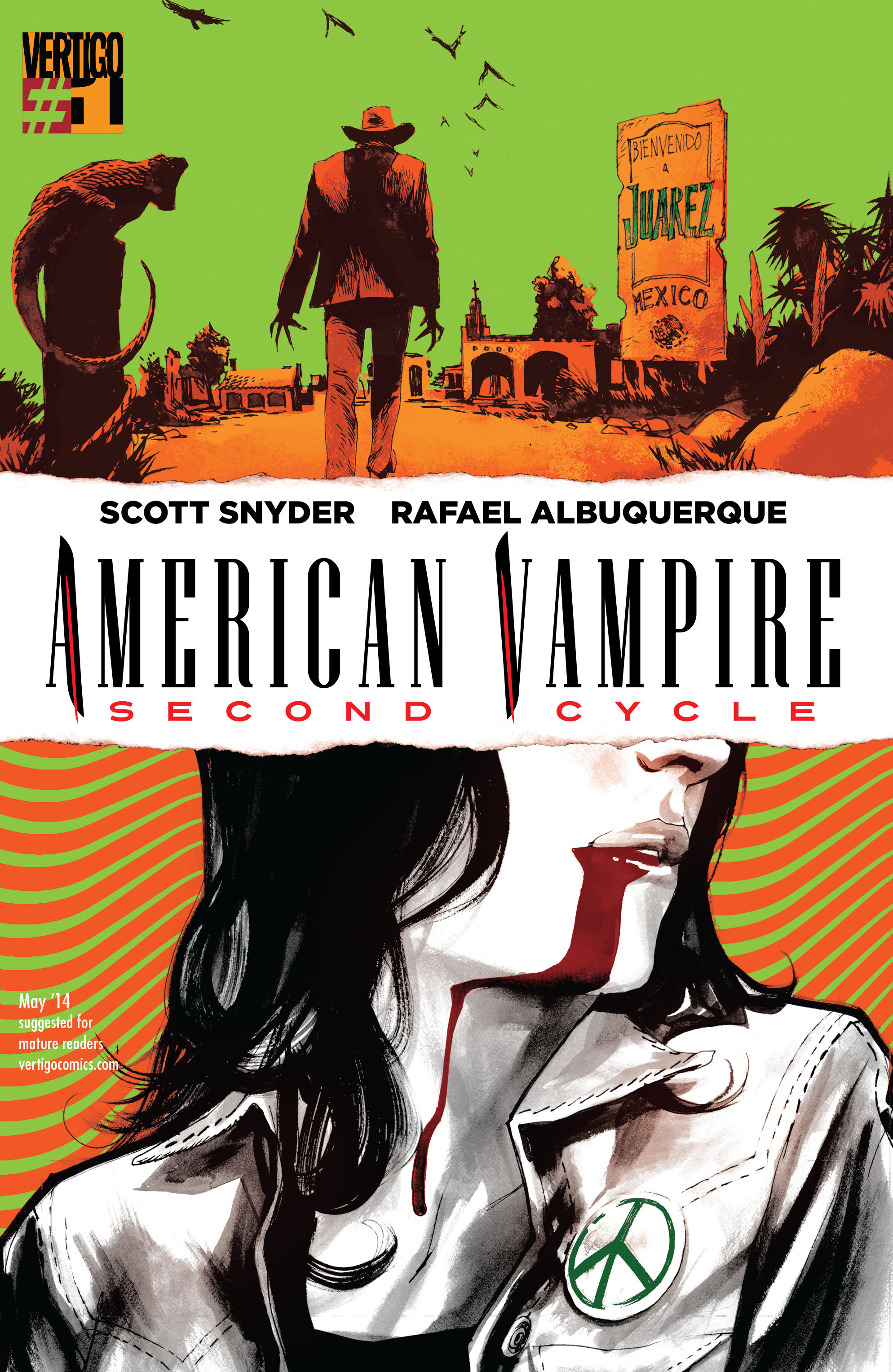 American Vampire: Second Cycle 1 Page 1