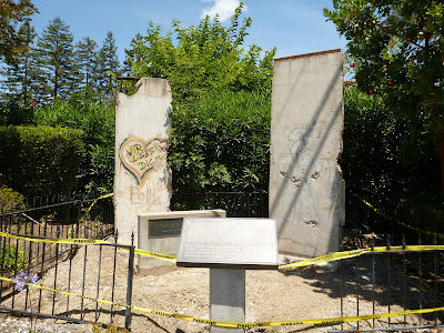 A Piece of the Berlin Wall in Mountain View