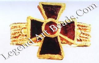 Ring with a Cruciform Bezel Byzantium.