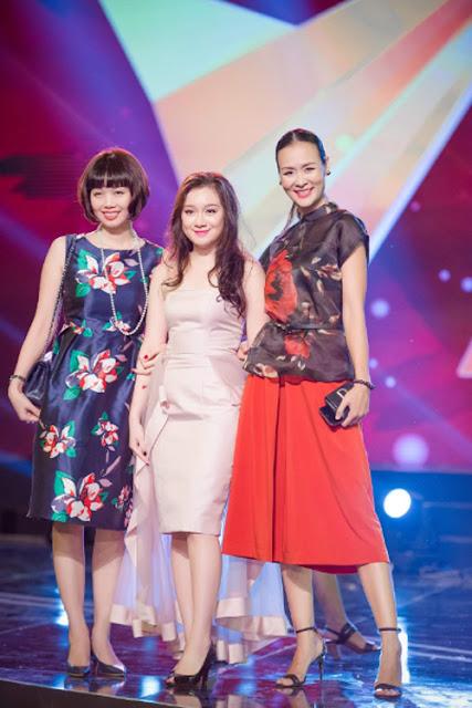 Cô kết hợp với quần cullotes ống rộng - trang phục được nhiều chân dài Việt yêu thích trong mùa mốt năm nay.