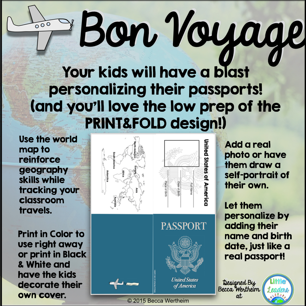 do you want an easy yet efficient way to implement passports in your classroom check out my passport bundle on tpt