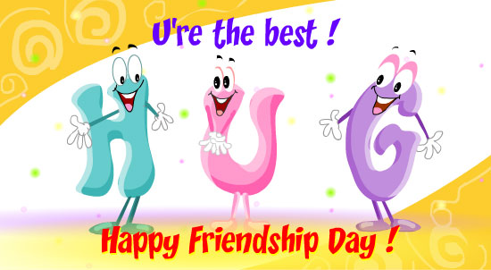 Happy Friendship day Wishes Greetings