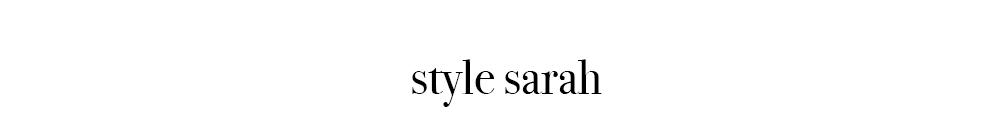 style sarah