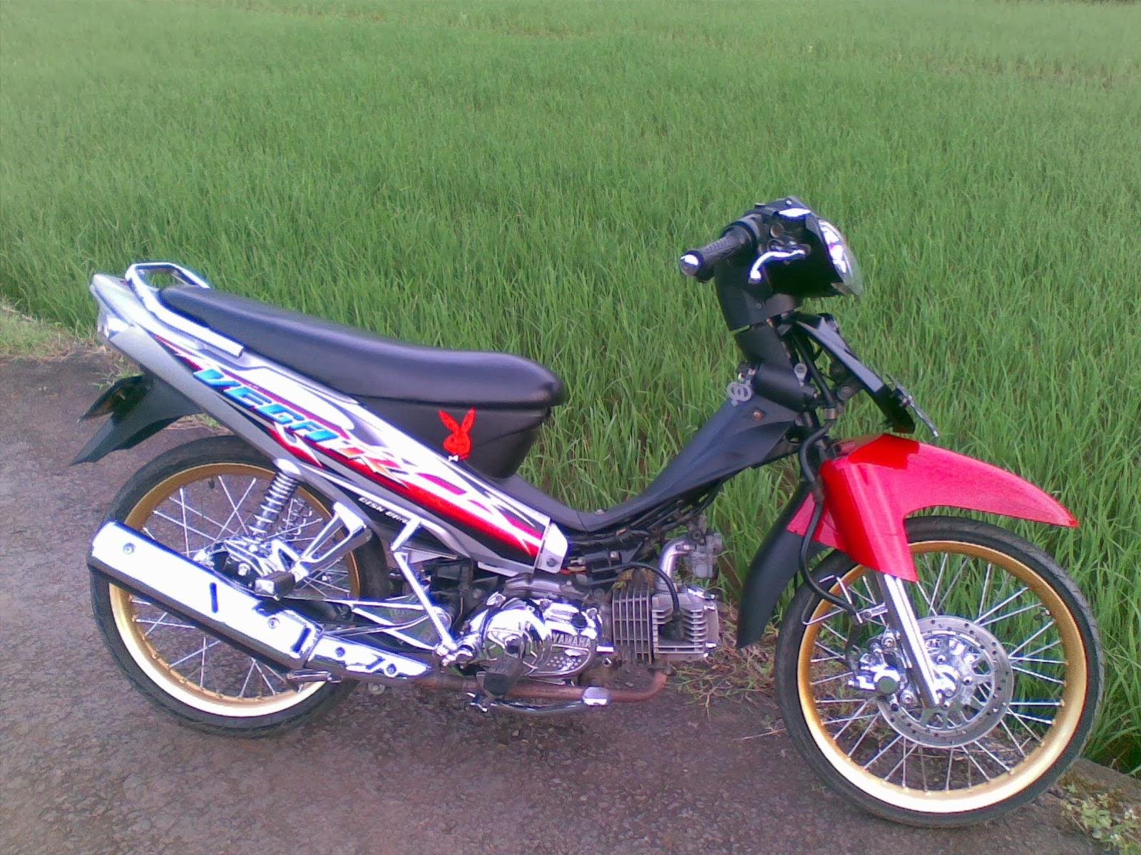 Top motor modifikasi vega r