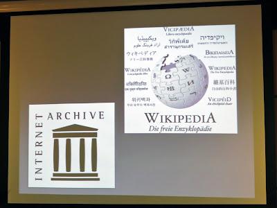 WikipediaやInternet Archive