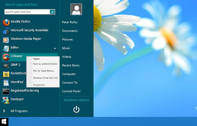 start button for windows 8 for start menu