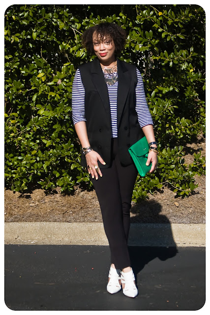 Italian Cotton Sleeveless Blazer