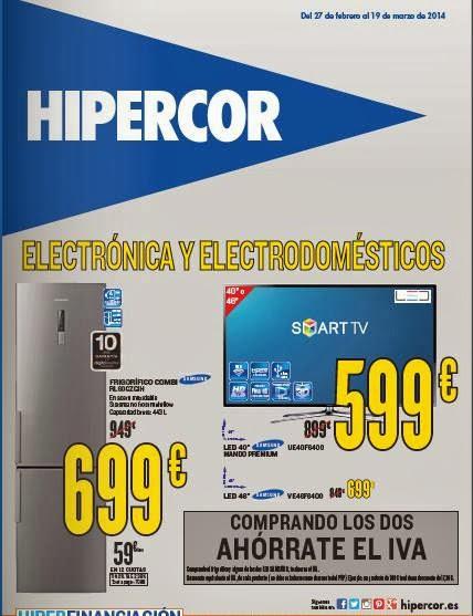ofertas de hipercor electro marzo 2014