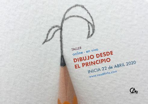 DIBUJO DESDE EL PRINCIPIO // 22 abril