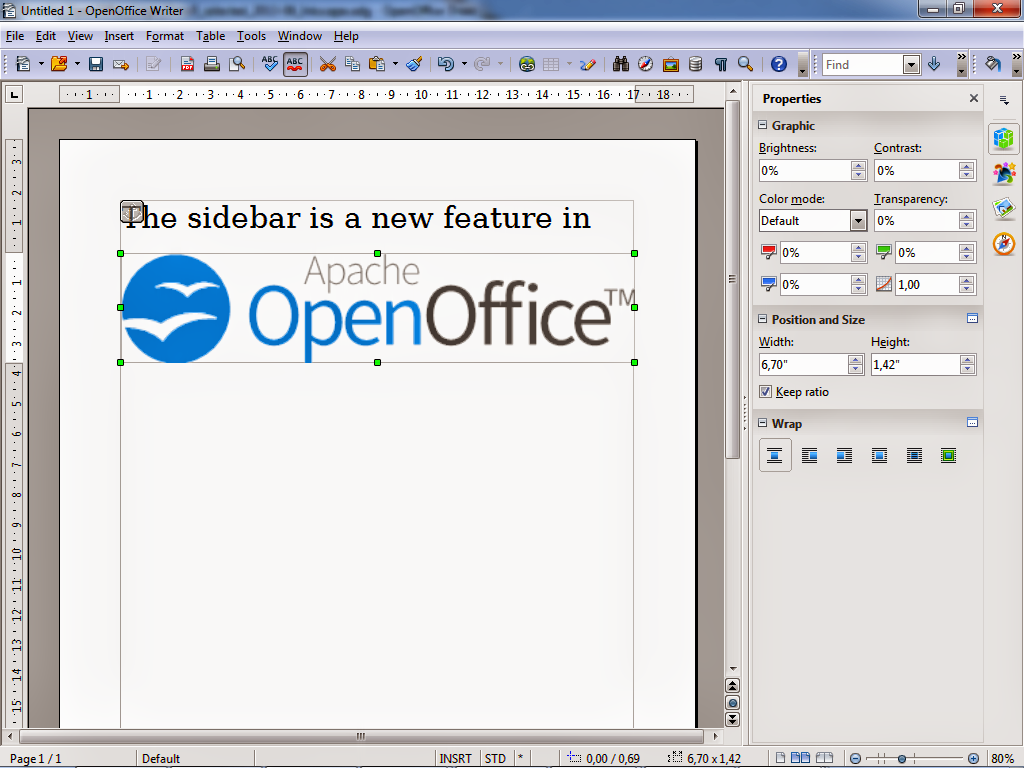 OpenOffice Writer  Download