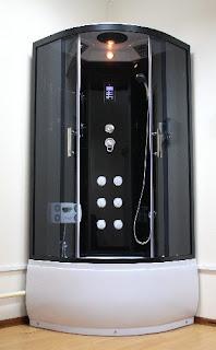 Новые модели душевых кабин Ammari для ванной комнаты...