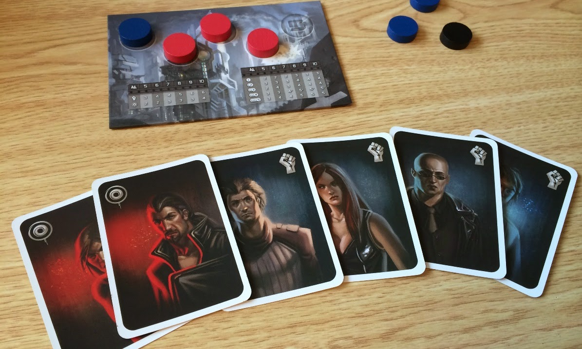 The Resistance board game review hidden identity