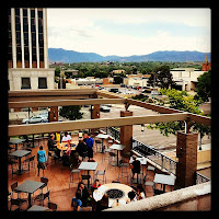Phantom Canyon Brewing Company's upper patio