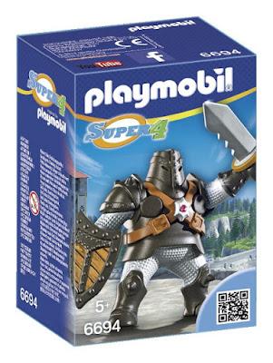 TOYS : JUGUETES - PLAYMOBIL Super 4 6694 Colossus Producto oficial Serie Television 2015 | Piezas: 8 | Edad: +5 años  Comprar en Amazon España & buy Amazon USA