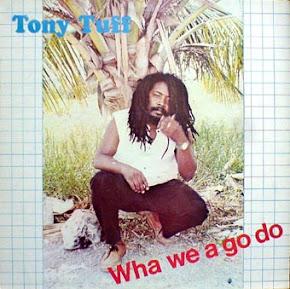 TONY TUFF LP EX EX(MELO DE NETURBO)