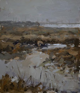 Seven Days on Mersea Island - Paintings and Sketches by Graham Webber