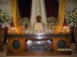 Iglesia la Inmaculada Decoración Semana Santa