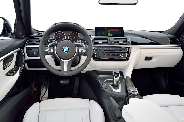 novo BMW Série 3 2016 340i - interior