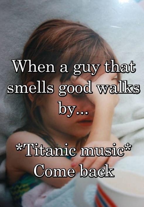 *Titanic music*
