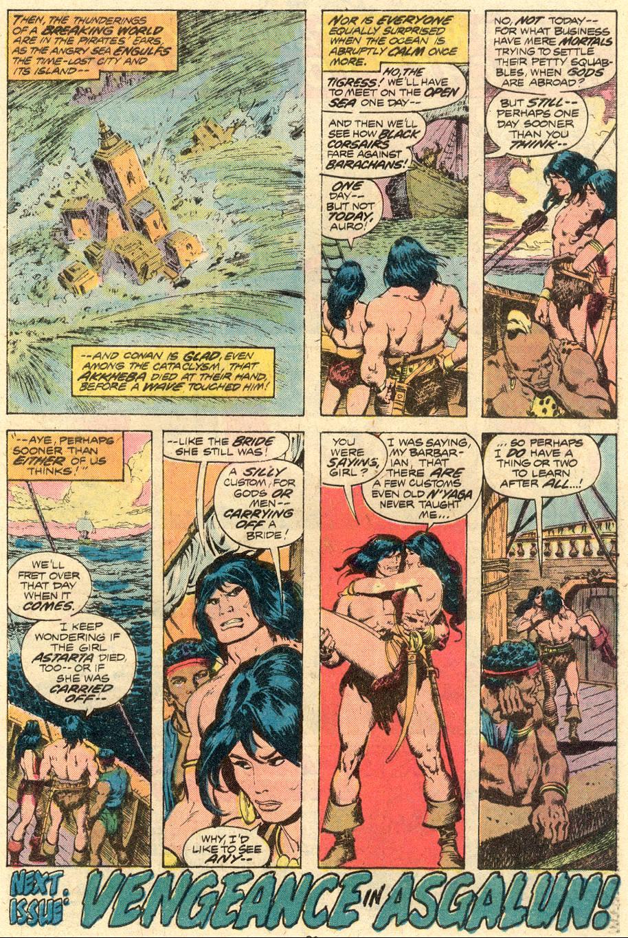 Conan the Barbarian (1970) Issue #71 #83 - English 18
