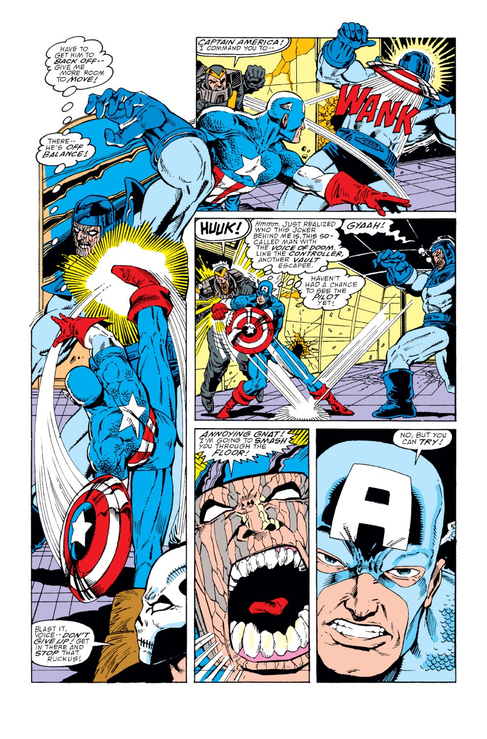 Captain America (1968) Issue #366 #299 - English 12