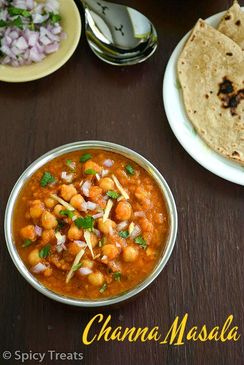 Channa Masala Recipe