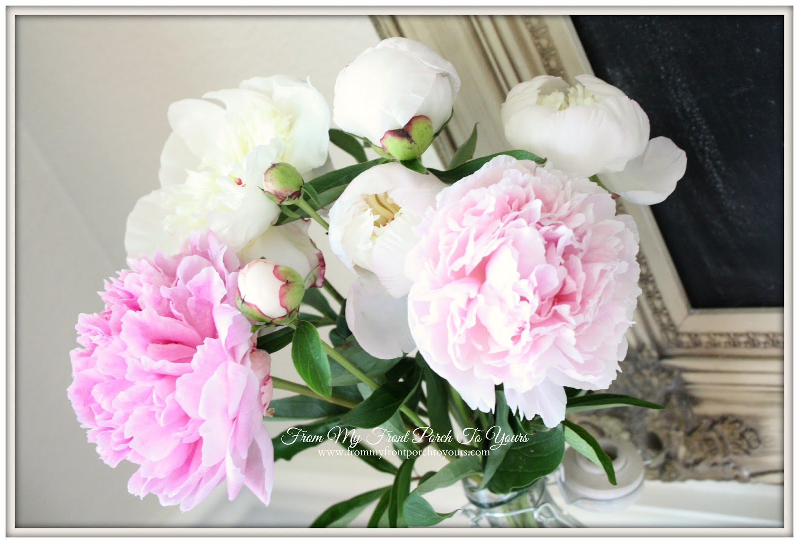From My Front Porch To Yours- Peonies