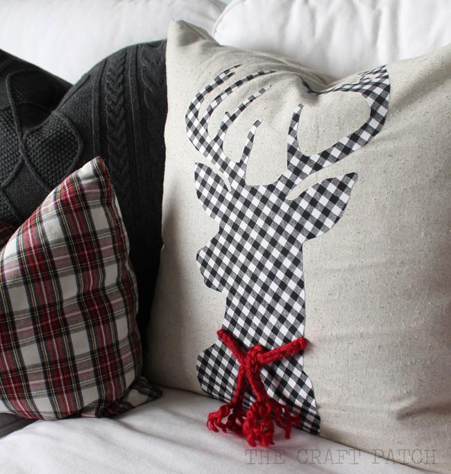 Christmas Throw Pillows Diy : The Craft Patch: DIY Christmas Pillows