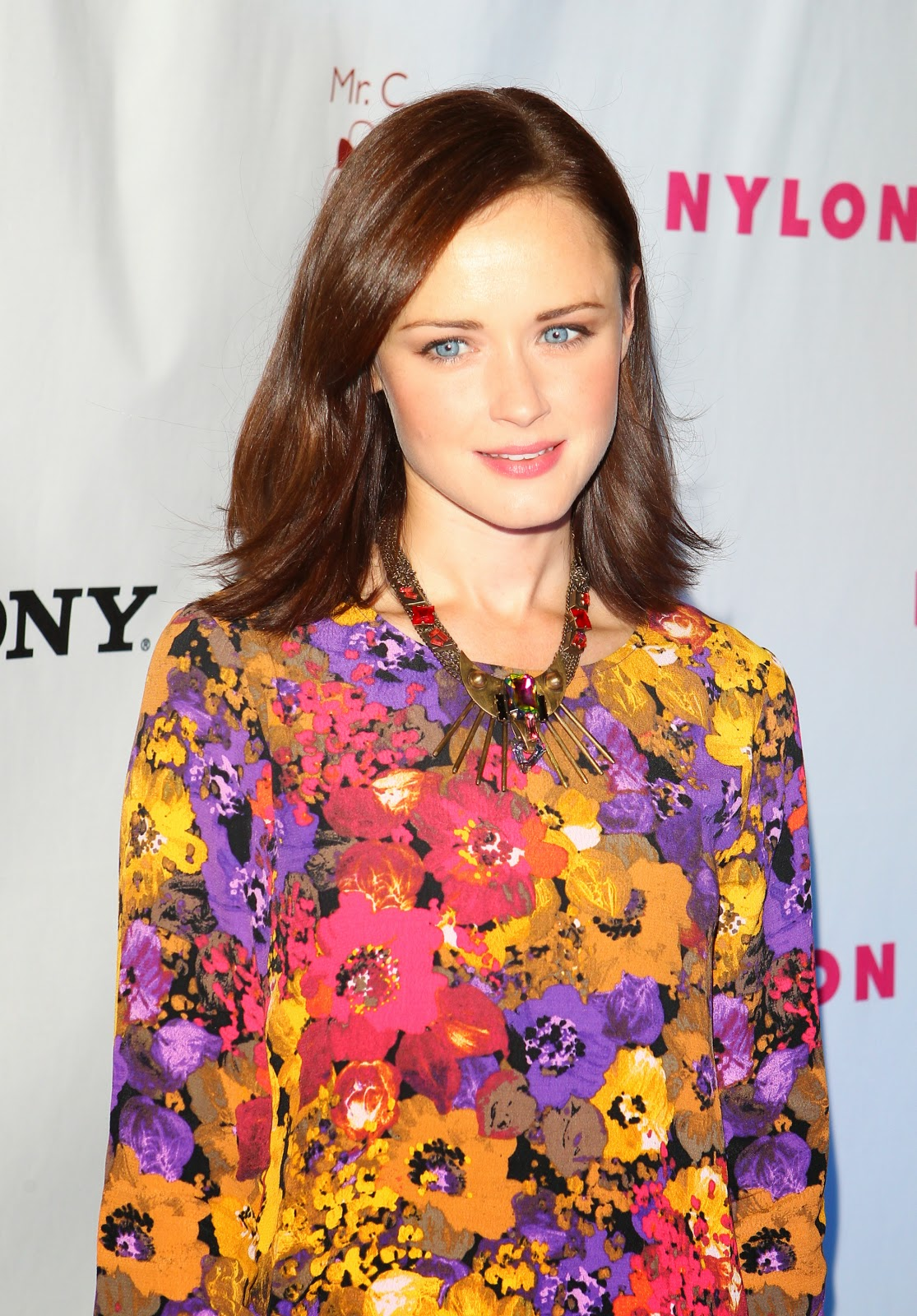 In Pics - Alexis Bledel attends NYLON and Sony X Headphones September TV Issue Party