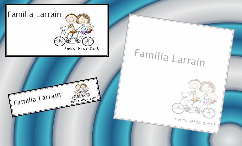 Dise os dulces dise os tarjetas familiares - Disenos para tarjetas ...