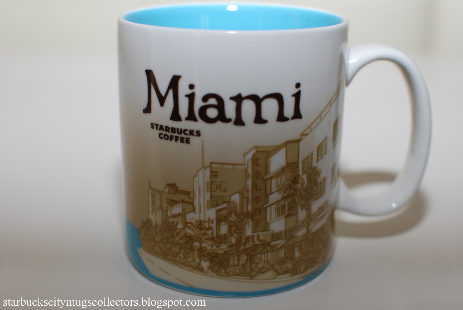As you probably know, many US cities will also be a part of the new collection. This is Starbucks Been There Miami mug. Is there a palm tree? Yes, a huge one. What else? Too early to say, we need real pics and not just preview. I will update this post as soon as I get anything better, guys.