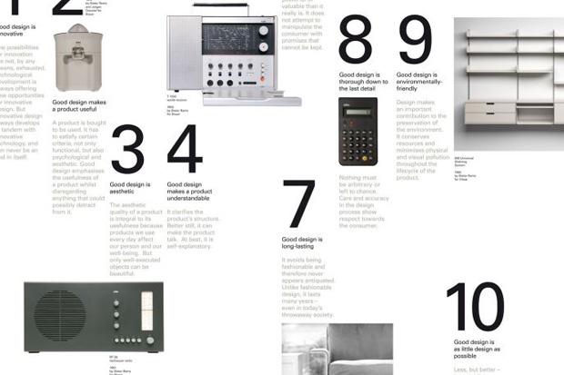 manifesto dieter rams. Black Bedroom Furniture Sets. Home Design Ideas
