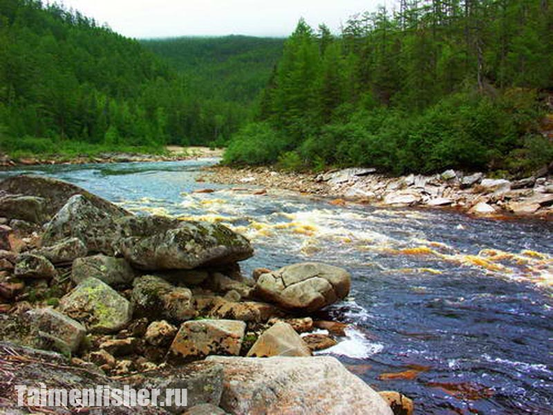 рыбалка в хабаровском крае на горных реках