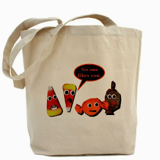 Café Press Halloween Candy Tote Bag Etsy Stalkers