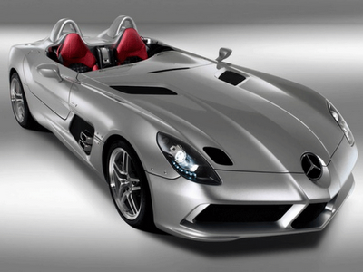 Car barn sport mercedes benz slr stirling moss new for Sports car mercedes benz