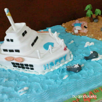 Gendiskoekis Big Size Cake